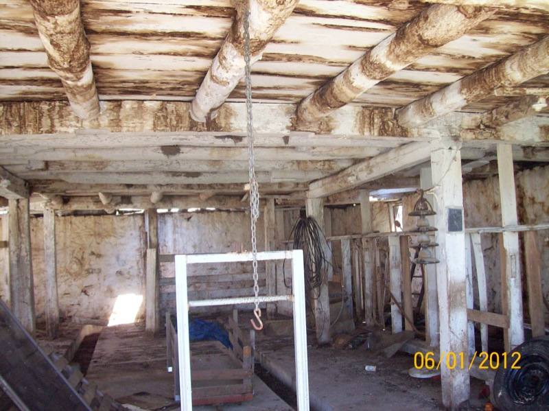 Treenut Barn Deconstruction Phase 4