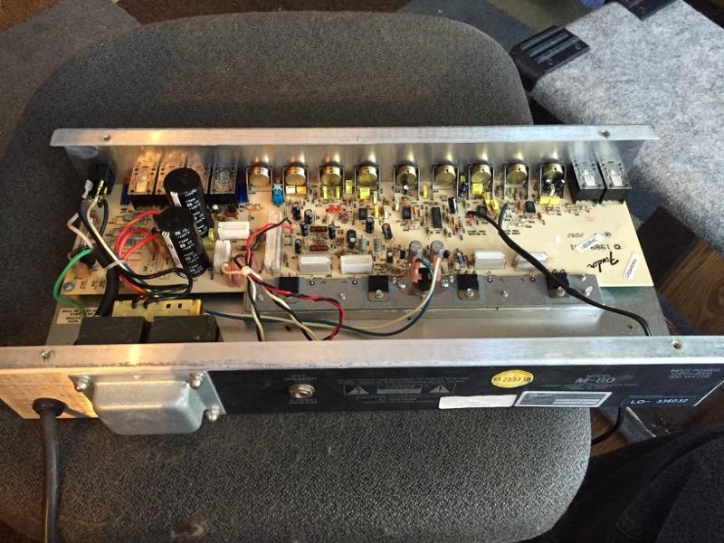 Fender M80 Repair on